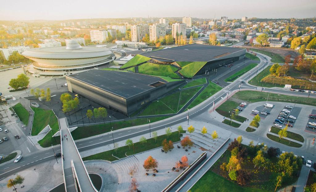 The International Congress Center, Katowice, Poland
