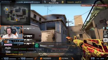 pashaBiceps SOMEONE IS CHEATING (FACEIT FPL)
